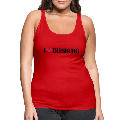 I love Duisburg - Männer T-Shirt klassisch - Frauen Premium Tank Top
