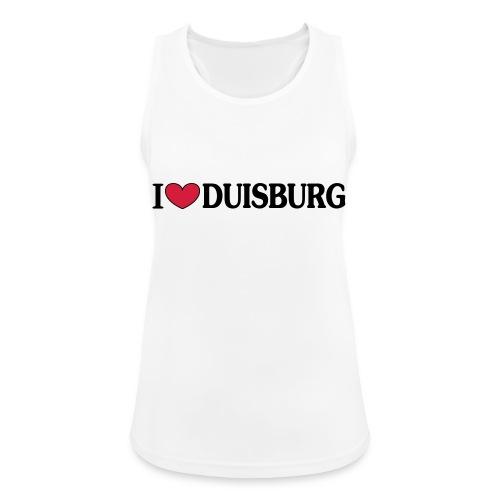 I love Duisburg - Männer T-Shirt klassisch - Frauen Tank Top atmungsaktiv