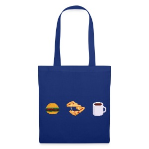 Pixel Food T-shirt - Tote Bag