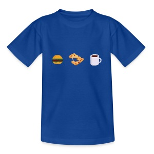 Pixel Food T-shirt - T-shirt Ado