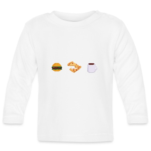 Pixel Food T-shirt - T-shirt manches longues Bébé