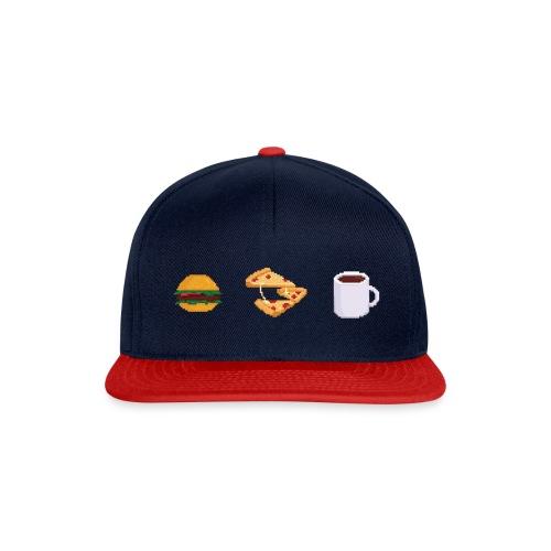 Pixel Food T-shirt - Casquette snapback