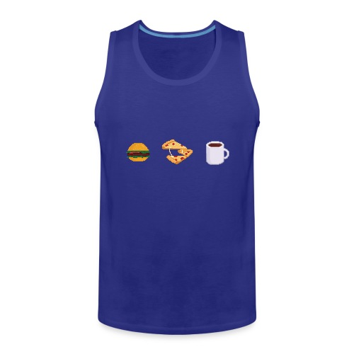 Pixel Food T-shirt - Débardeur Premium Homme