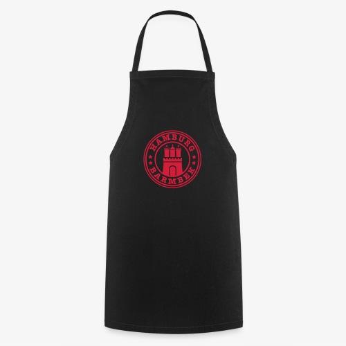 HAMBURG Barmbek - Hamburger Wappen Fan-Design HH Männer Shirt - Kochschürze