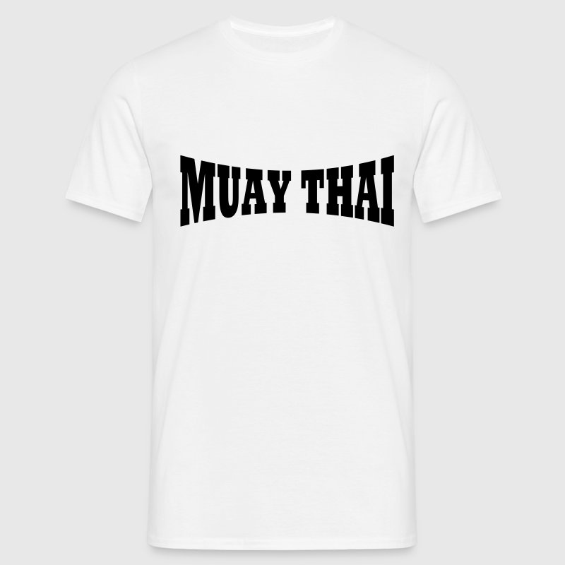 Muay Thai lettering - Men's T-Shirt