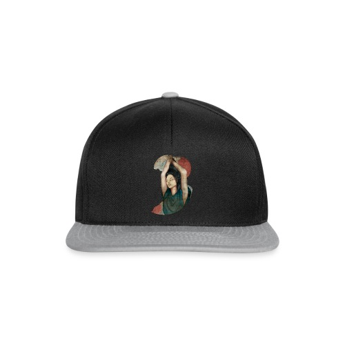 Anabelle Dust by carographic @ Jute Beutel black - Snapback Cap