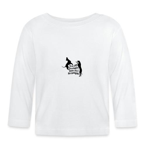 Dienerinnen Becher - Baby Langarmshirt
