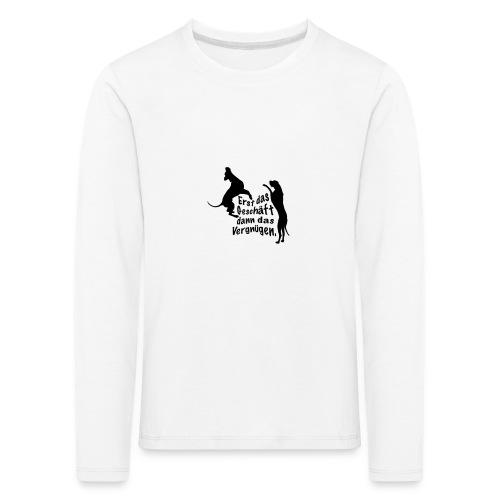 Dienerinnen Becher - Kinder Premium Langarmshirt