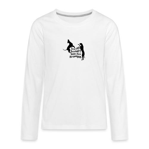 Dienerinnen Becher - Teenager Premium Langarmshirt