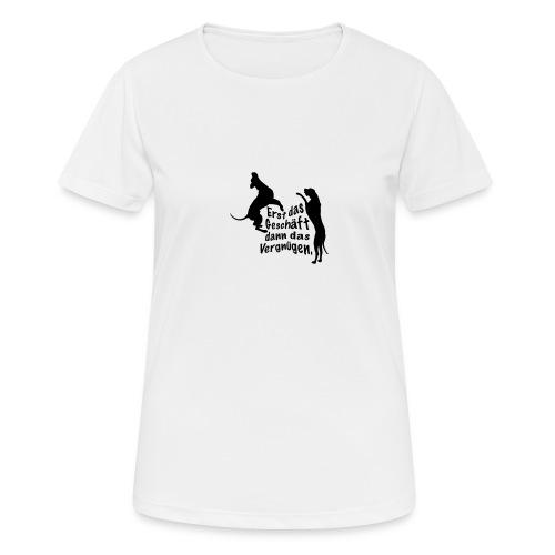 Dienerinnen Becher - Frauen T-Shirt atmungsaktiv