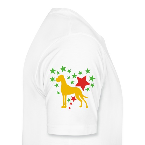 Bierkrug Dogge - Männer Premium T-Shirt