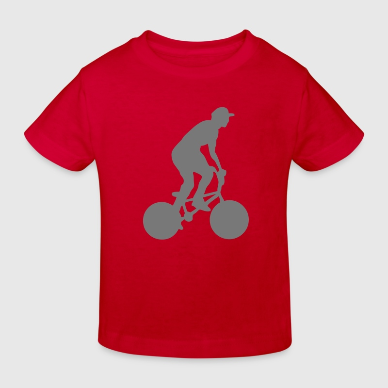 velo8 bmx bike freestyle cross Tee shirts Enfants - T-shirt bio Enfant