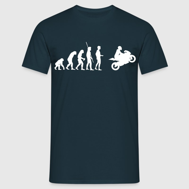 Evolutie Motorcycle  T-shirts - Mannen T-shirt