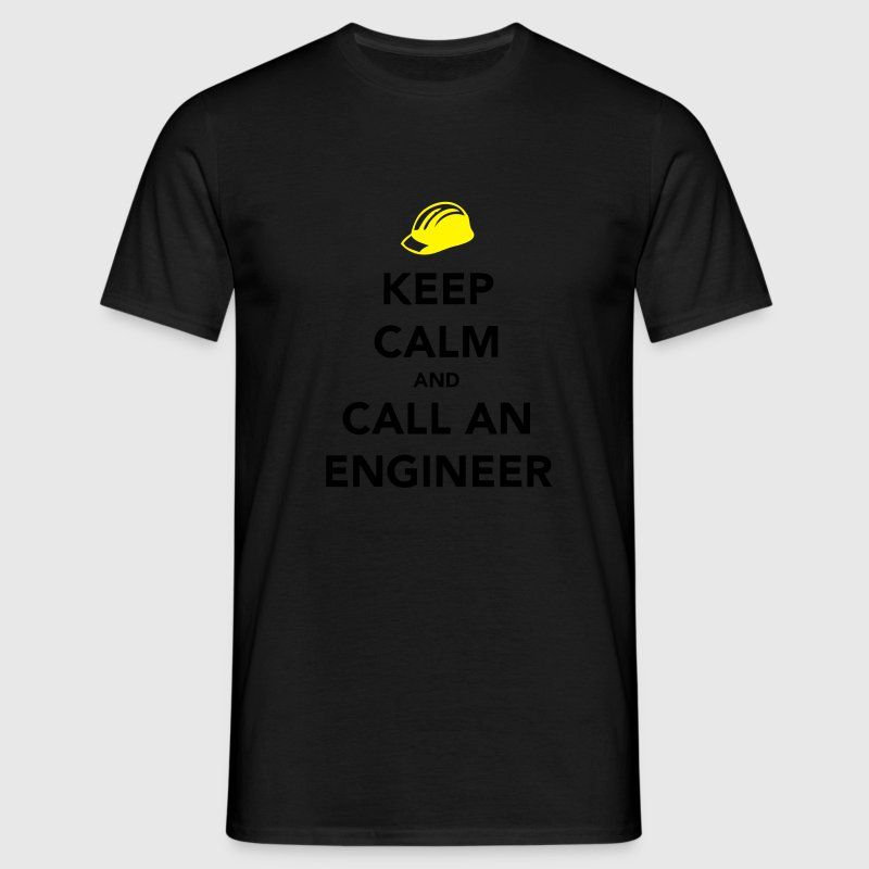 Keep Calm Engineer Koszulki - Koszulka męska