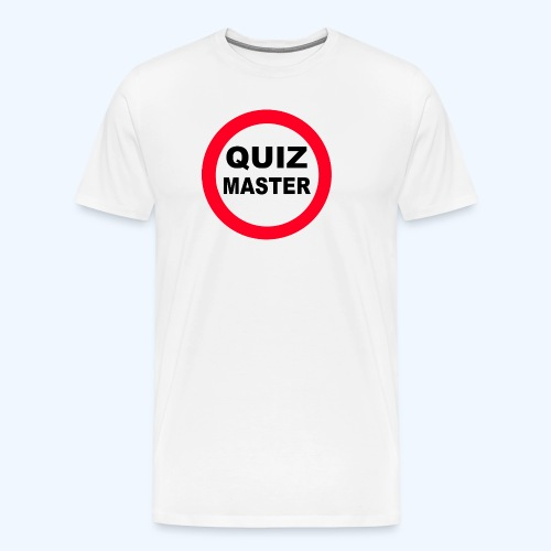 QuizMaster Beer Mug - Men's Premium T-Shirt