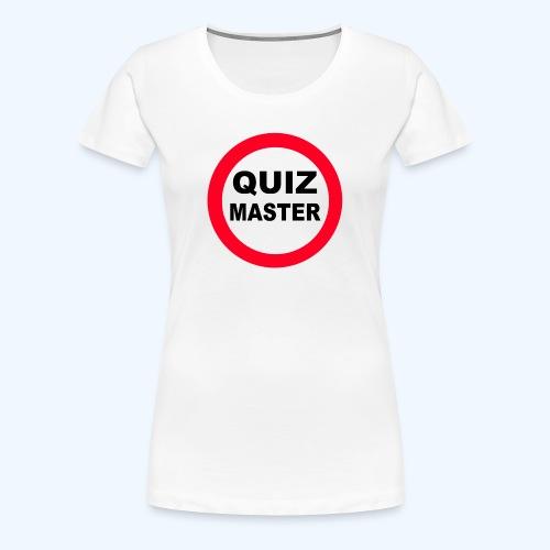 QuizMaster Beer Mug - Women's Premium T-Shirt