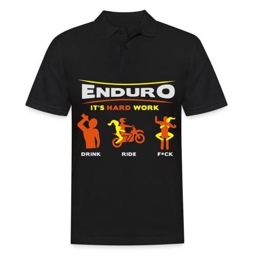 Enduro - It's hard work FlexShirt HQ - Männer Poloshirt