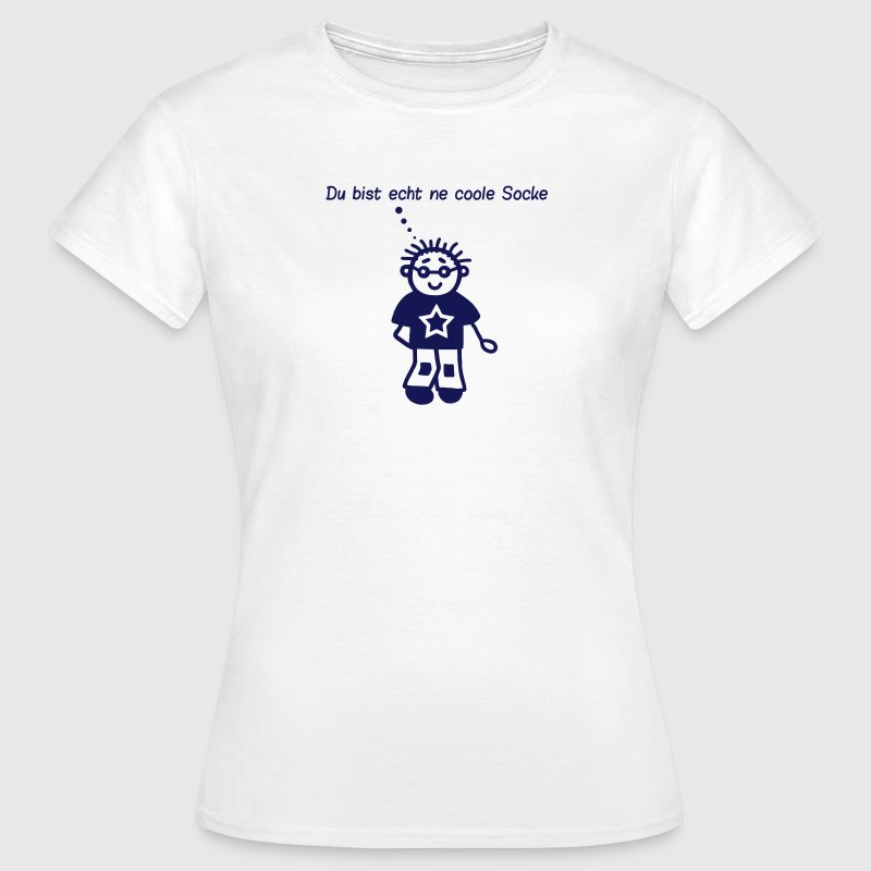 Coole Socke T-Shirts - Frauen T-Shirt