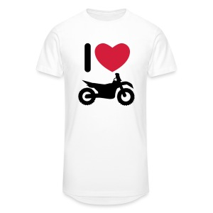 I love biking FlexShirt HQ - Männer Urban Longshirt
