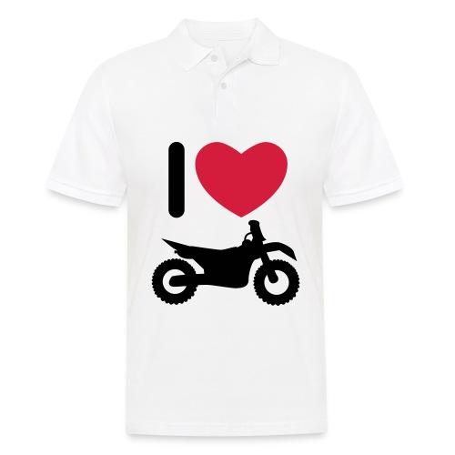I love biking FlexShirt HQ - Männer Poloshirt