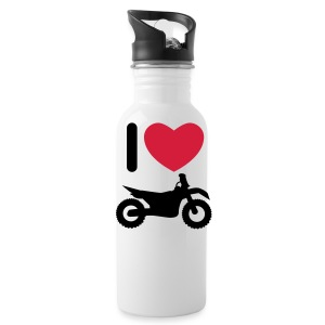 I love biking FlexShirt HQ - Trinkflasche