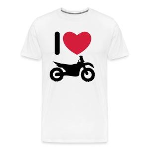 I love biking FlexShirt HQ - Männer Premium T-Shirt