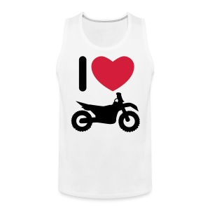 I love biking FlexShirt HQ - Männer Premium Tank Top