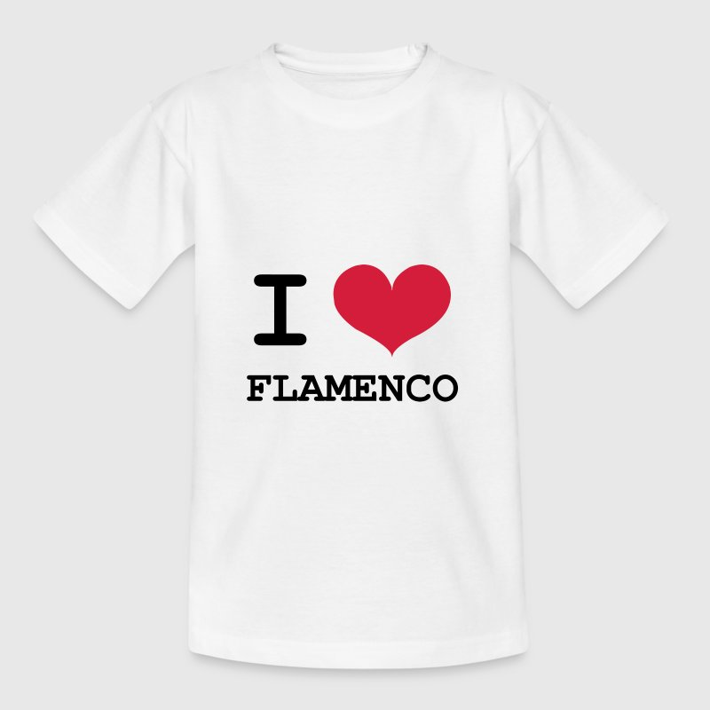 I Love Flamenco ! Shirts - Kids' T-Shirt