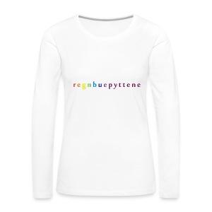Regnbuepyttene - Caps - Premium langermet T-skjorte for kvinner