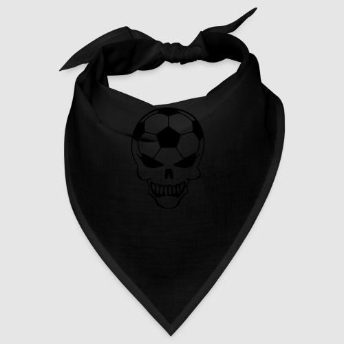 Totenkopf Tasche schwarz - Bandana