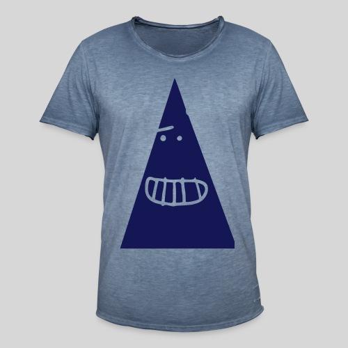 Triangle MONSTER - Männer Vintage T-Shirt