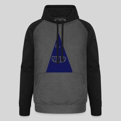 Triangle MONSTER - Unisex Baseball Hoodie