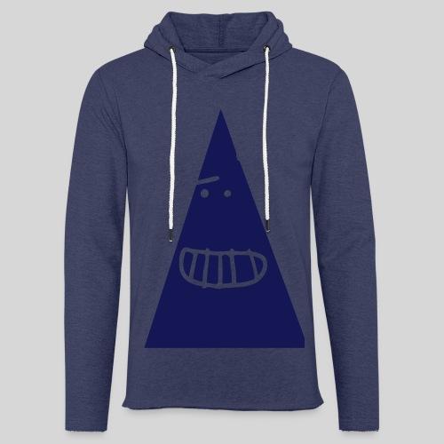 Triangle MONSTER - Leichtes Kapuzensweatshirt Unisex