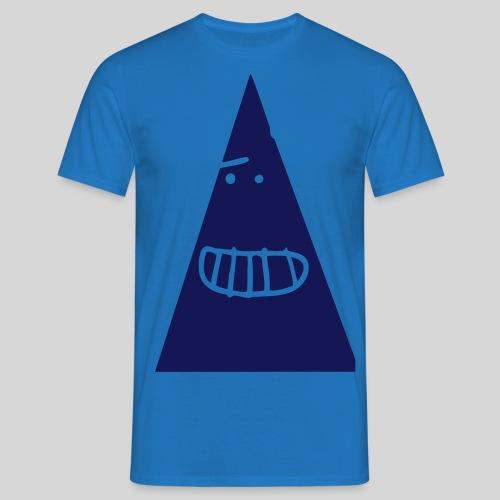 Triangle MONSTER - Männer T-Shirt