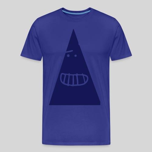 Triangle MONSTER - Männer Premium T-Shirt