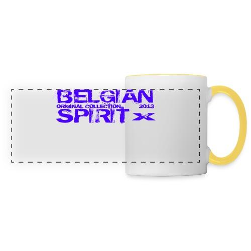 BELGIAN SPIRIT 2 - Mug panoramique contrasté et blanc