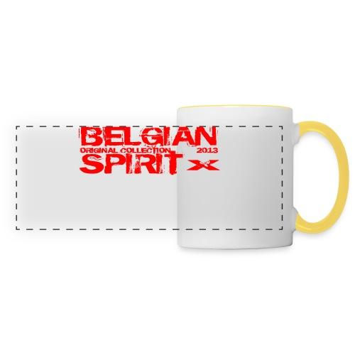 BELGIAN SPIRIT 3 - Mug panoramique contrasté et blanc