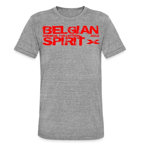 BELGIAN SPIRIT 3 - T-shirt chiné Bella + Canvas Unisexe