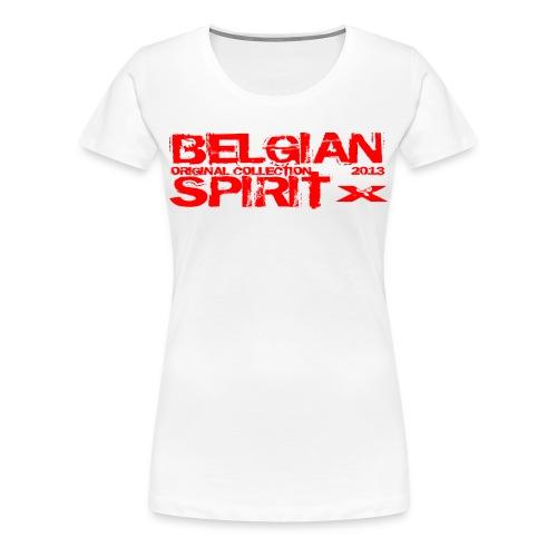 BELGIAN SPIRIT 3 - T-shirt Premium Femme