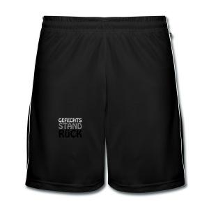 Teddy Gefechtstand Rück - Männer Fußball-Shorts