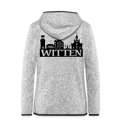 Skyline Witten - Männer Kapuzenpulli - Frauen Kapuzen-Fleecejacke