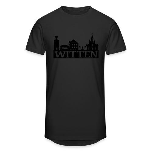 Skyline Witten - Männer Kapuzenpulli - Männer Urban Longshirt