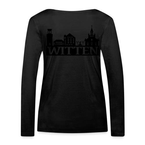 Skyline Witten - Männer Kapuzenpulli - Frauen Bio-Langarmshirt von Stanley & Stella