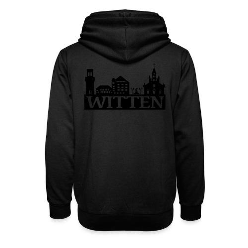 Skyline Witten - Männer Kapuzenpulli - Schalkragen Hoodie