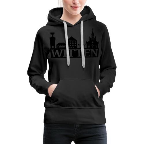 Skyline Witten - Männer Kapuzenpulli - Frauen Premium Hoodie