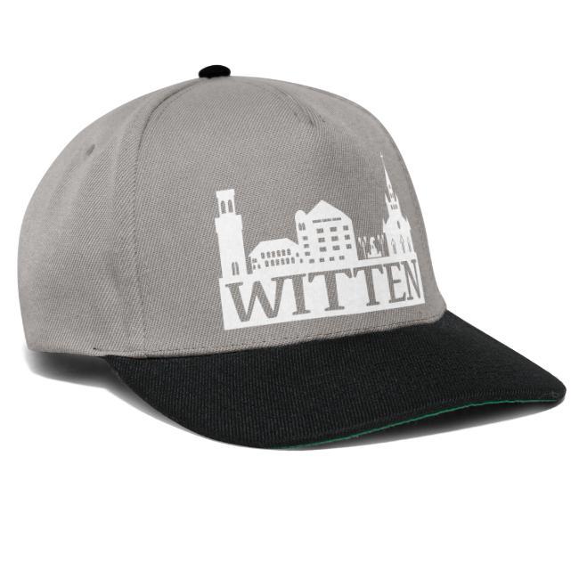 Skyline Witten - Männer Kapuzenpulli