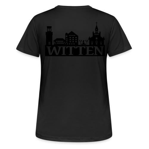 Skyline Witten - Männer Kapuzenpulli - Frauen T-Shirt atmungsaktiv