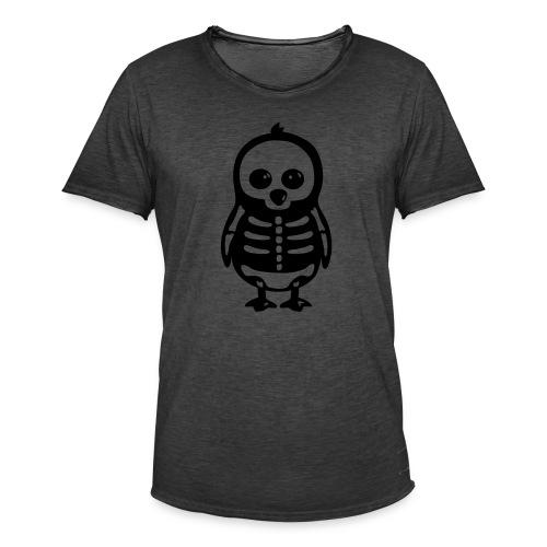 Pingouin Squelette T-shirt Homme - T-shirt vintage Homme