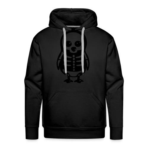 Pingouin Squelette T-shirt Homme - Sweat-shirt à capuche Premium pour hommes