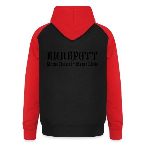 Ruhrpott - Meine Heimat, meine Liebe - T-Shirt klassisch - Unisex Baseball Hoodie